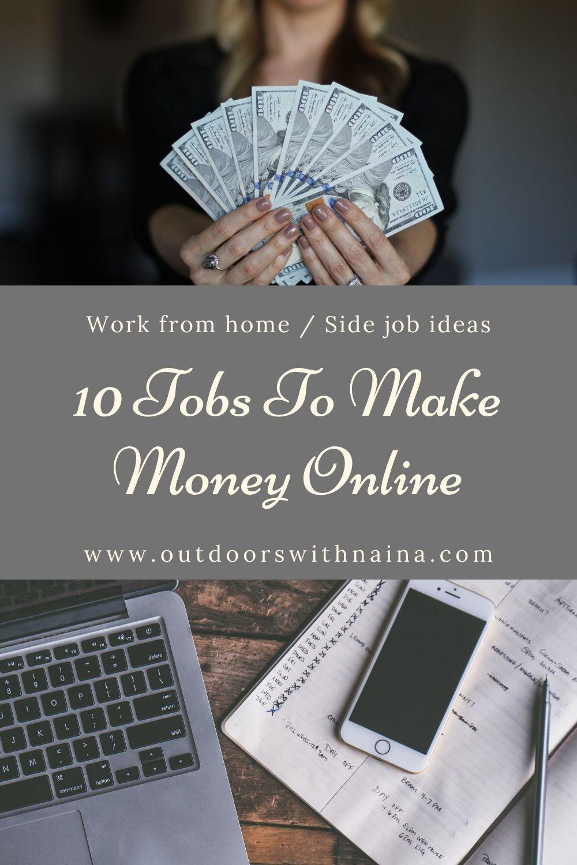 10 Jobs to make money online